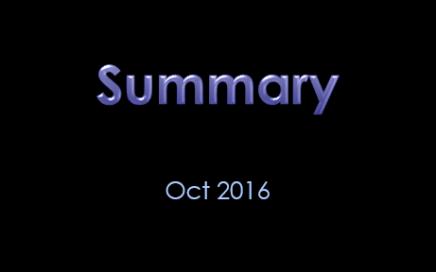Summary of Signalgorithm trading strategy Oct 2016